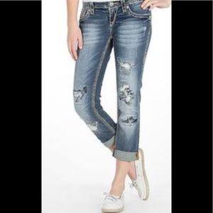 Rock Revival Heidi capri jeans